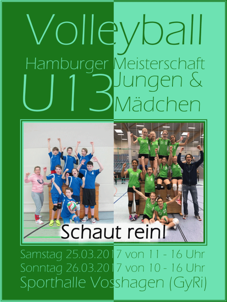Volleyball U13 Meisterschaft – Das Finale in Rissen